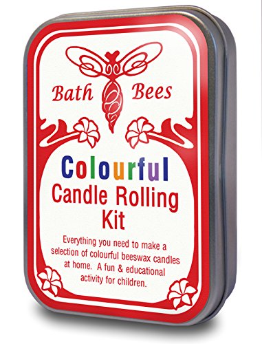 Natural Beeswax Colourful Candle Rolling Kit