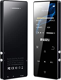 RUIZU Mp3 Player,8GB Music Player with Bluetooth 5.0,Built-in Speaker,Lossless Sound MP3 Music Player with FM Radio Voice ...