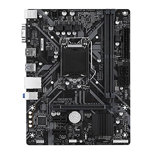 Shuang La placa base H310M S2 2.0 soporta I3 8100/9100F/I5 9400F