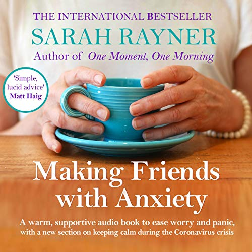 Making Friends with Anxiety audiobook cover art