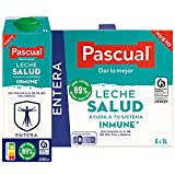 Pascual – Leche Entera Salud Bienestar Animal – 6 x 1L