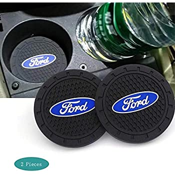 SHENGYAWAUTO Car Interior Accessories Cup Holder,Anti Slip Cup Mat Insert for All Brands of Cars 2 Packs,2.75 inch