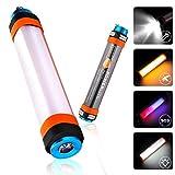 Audew Camping Laterne LED Licht Mehrzweck-Taschenlampe Notfallleuchte Moskito-Lampe SOS Lichter 6...