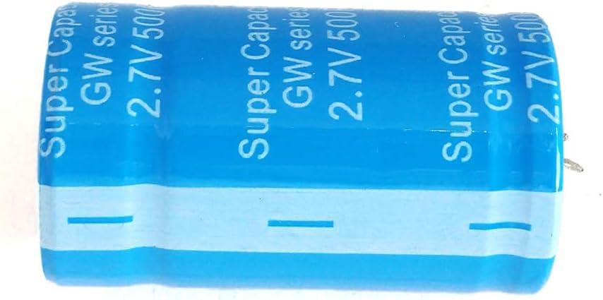 1pcs Guangcailun 2.7V 500F condensatore Veicolo raddrizzatore a Bassa ESR Ultra-condensatore ad Alta frequenza