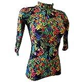 Made 4 Sun - Tropiques T-Shirt Top Maillot Anti UV Manches Courtes Femme