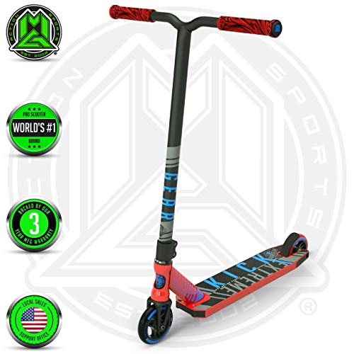 Cheapest Prices! Madd Gear Kick Extreme Scooter (RED/Blue 2019)