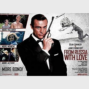 From Russia With Love (Sean Connery James Bond 007 e Daniela Bianchi Original Soundtrack 1963)