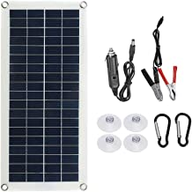 Varadyle Solar Panel 10W Single Crystal Dual USB Port Flexible Solar Mobile Power Outdoor Camping Solar Battery Charger