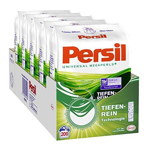 Persil Universal Megaperls, Vollwaschmittel, 90 (5 x 18) Waschladungen für hygienisch reine Wäsche