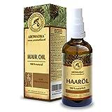 Haaröl 100ml - 100% Rein Natürlich Haare Öl mit Jojobaöl - Zedernholzöl - Eukalyptusöl & Orangenöl für Haarpflege - Brüchige Haare - Haarstärkung - Verleiht Glanz & Geschmeidigkeit