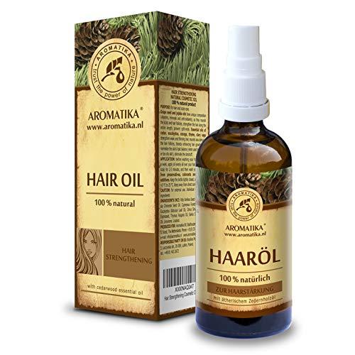 Aceite para Cabello 100ml - 100% Puro & Natural - Aceite de Jojoba - Eucalipto - Aceite para Cuidado del Cabello Seco y Quebradizo - Crecimiento del Cabello - Fortalecimiento del Cabello
