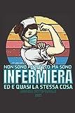 """Ma sono Infermiera Agenda Settimanale 2021: Diario Planner Calendario Pianificatore, Pianificatore Agenda medico infermiera 2021, Diario Planner ... Settimanale infermiera 2021, 6""""x9"""" Formato A5"""