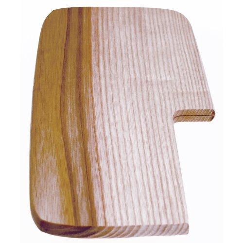 Stubai 799624 Planche pour Couper Jambon, Bois, Beige, 28 x 13 x 13 cm