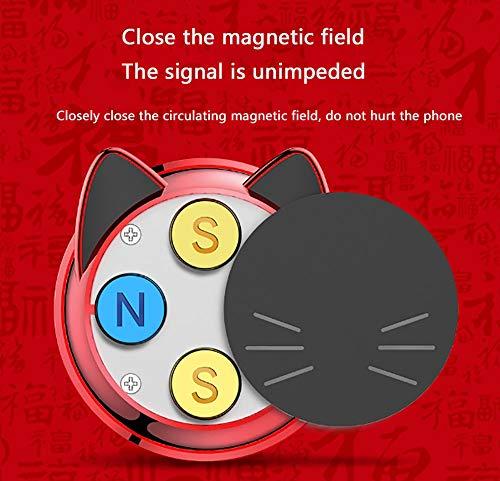 FTFTO Handyhalter Auto Handyhalterung Magnet FüRs Auto mit Anti-Rutsch-Basis Handyhalterung Kompatibles Phone füR Huawei Und Jedes Andere Smartphone Oder GPS-GeräT, AutozubehöR - 5