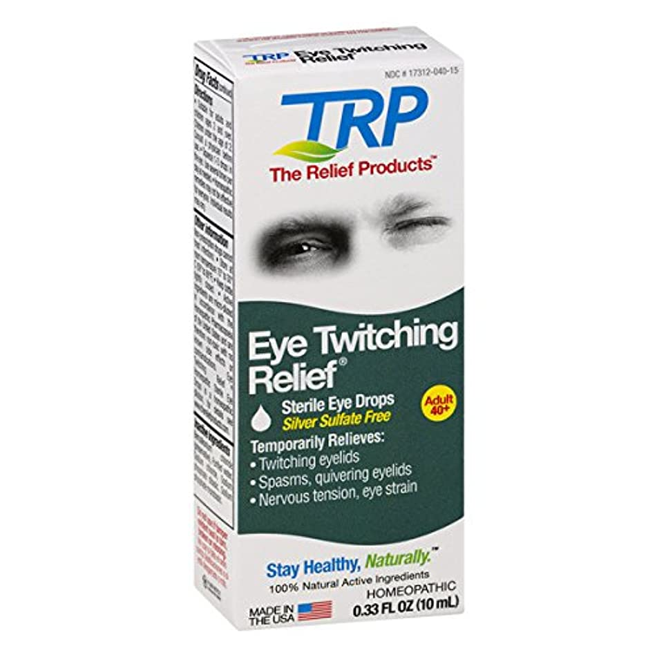 The Relief Products Eye Twitching Relief Drops, 0.33 fl. oz.