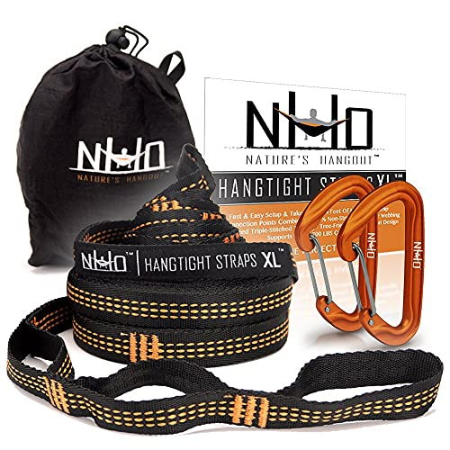 Light Weight Versatile Tree Safe Hammock Straps