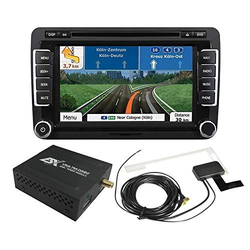 ESX Naviceiver VN735-VO-U1 Radio Navigation inkl DAB Modul passend für VW T6 ab 2015 ohne werkseitg verbautes Radio