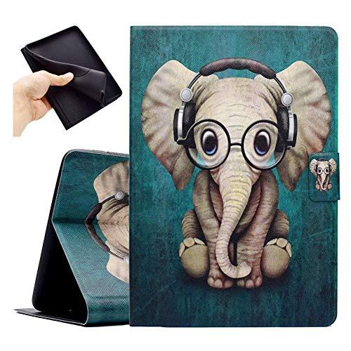 Bspring Funda Compatible con Kindle Paperwhite 1234, Funda de Cuero Folio Smart Cover con función Auto Wake, Compatible con Todos los Modelos nuevos y Antiguos Kindle Paperwhite, Elefante