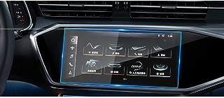 Piaobaige سيارة الملاحة الزجاج المقسى شاشة واقية فيلم ملصق راديو GPS Lcd داش المجلس حارس الشاشة لأودي Q8 A6 A7 2019 2020