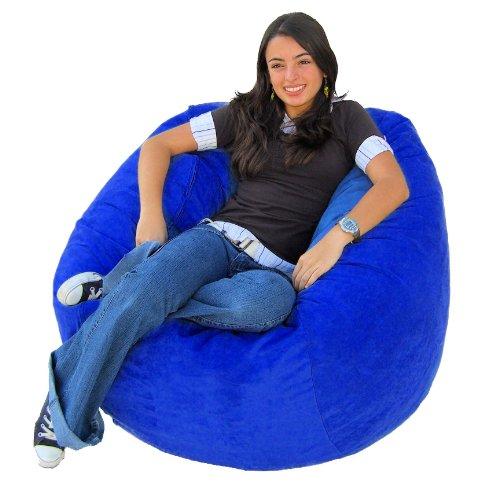 Cozy Sack 4-Feet Bean Bag Chair, Large, Royal Blue