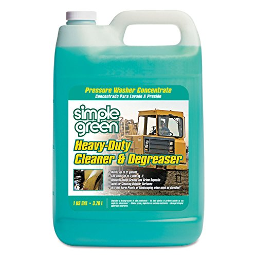 1 gal. Heavy Duty Cleaner and Degreaser Pressure Washer Concentrate (Case of 4)-Simple Green-2310000418203