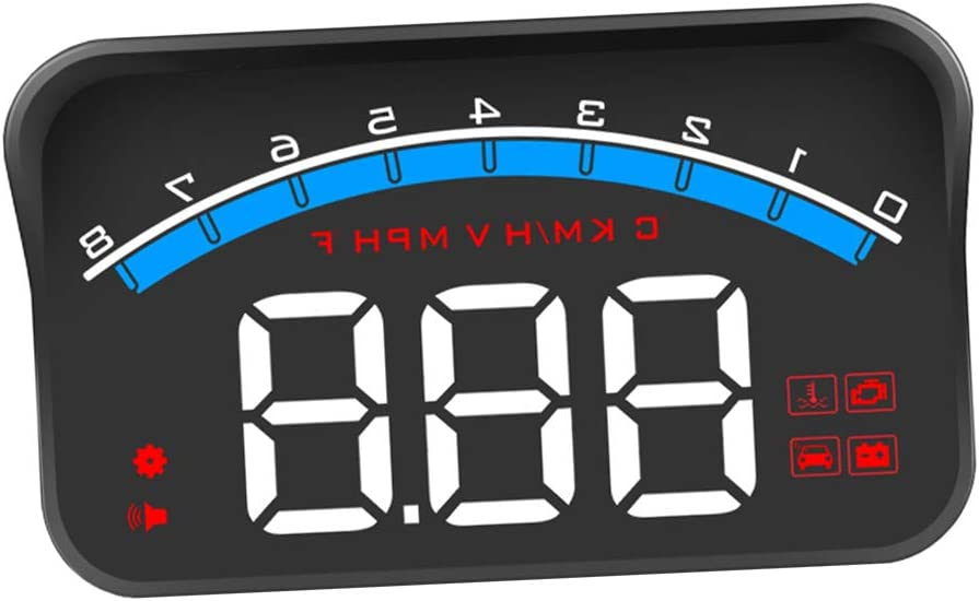 Prettyia M6S Car New York outlet Mall Digital Overspeed Speedometer Head-Up Display