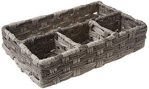 cesta mimbre baño fabricante Whitmor