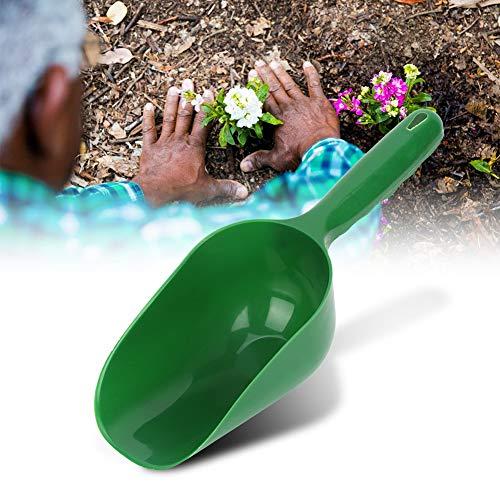 Cuchara de plástico multifunción Verde 29,7 cm / 11,7 Pulgadas Cucharas para Suelo, Pala para Plantar Flores Pala de plástico, para jardín, plantación al Aire Libre