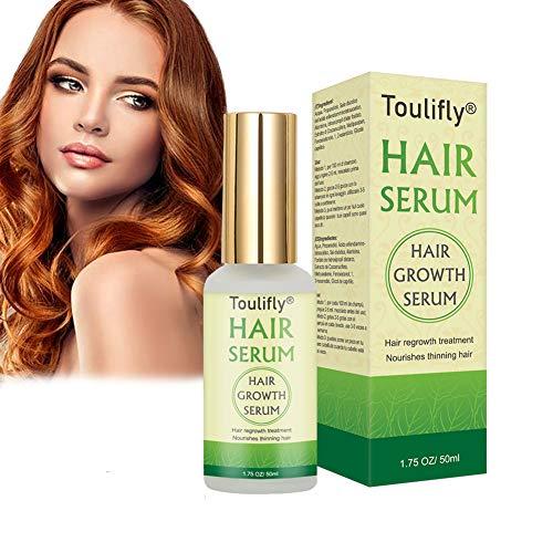 Hair Serum, Anti caduta dei capelli,Siero per la ricrescita dei capelli,Trattamento per capelli al cocco, trattamento ricrescita,rinforza le radici dei capelli e aggiunge lucentezza naturale