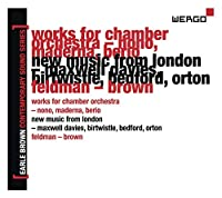 Earle Brown Contemporary Sound Series 2