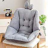 Semi-Enclosed One Seat Cushion,Womdee Chair Cushion Pads with Ties,Tailbone Pain Relief Cushion - Coccyx Cushion - Sciatica Bleacher Seats with Backs and Cushion for Home Office Sofa Car Wheelchair