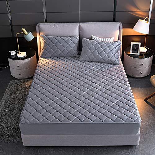 haiba Touch Spannbettlaken Spannbetttuch Bett, Kinderbett Couch Flauschiges Laken Tagesdecke 180x200cm