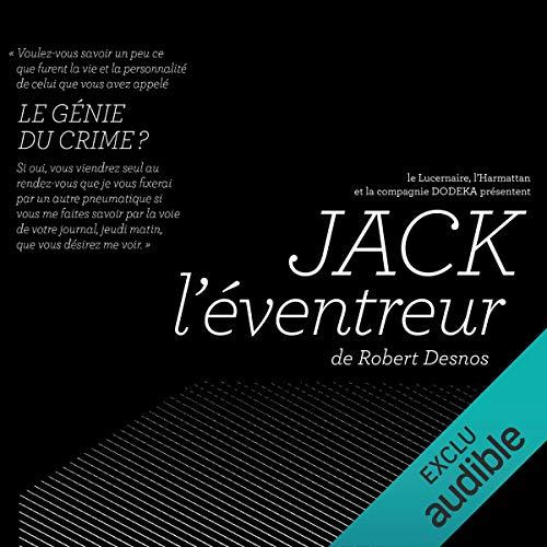 Jack l'éventreur audiobook cover art