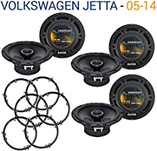 Compatible with Volkswagen Jetta 2005-2014 Factory Speaker Upgrade Harmony (3) R65 Package New