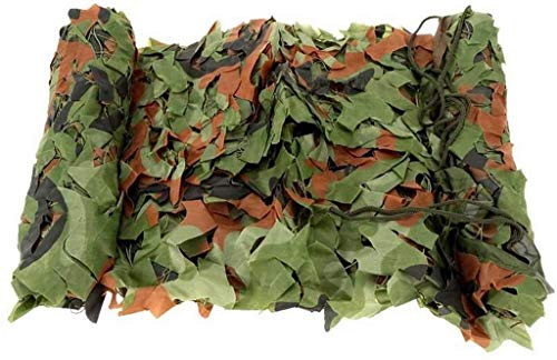 MWXFYWW Green Lightweight Durable Camouflage Net, Hunting Camping 2M X 3M Shading Net for Military Theme Party and Other Outdoor Activities Decoration
