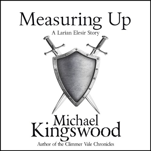 Measuring Up audiobook cover art