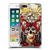 Head Case Designs Oficial Riza Peker Cráneo de 3 Ojos Calaveras 9 Carcasa de Gel de Silicona Compatible con Apple iPhone 7 Plus/iPhone 8 Plus