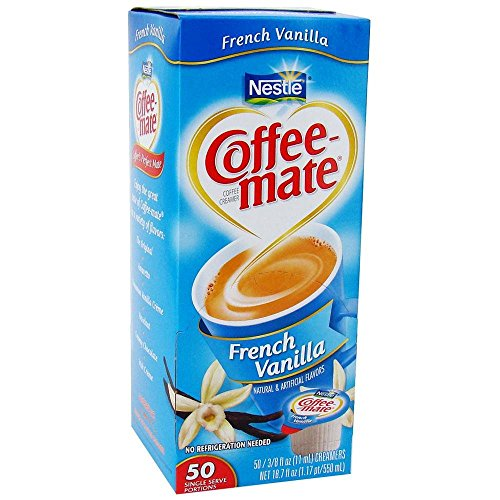 Coffee-Mate French Vanilla Liquid Creamer 50 Ct