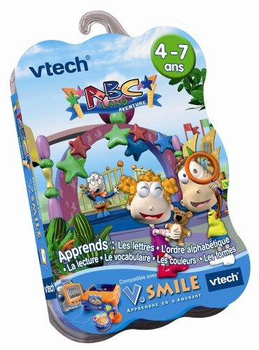 VTech - Cartouche de jeu V.Smile Abc Land Aventure - 92005