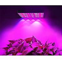 屋内植物LED植物の成長光45 W LEDビーズのフルスペクトル温室の水耕ホワイトレッドブルー85-265 V-85-265V_EUプラグ