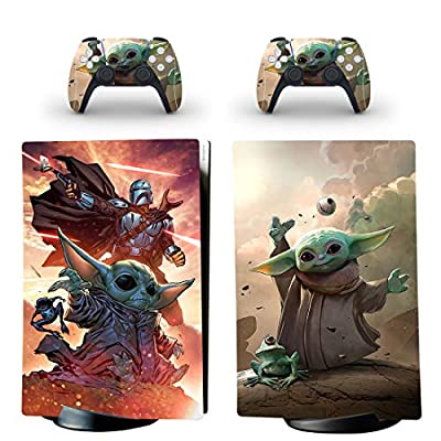 PS5 Skin for Console and Controllers Vinyl Sticker SW