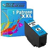 Tito-Express Cartucho de tinta ProSerie 1 compatible con Epson 202XL 202 XL con 10 ml cian XXL de contenido Expression Premium XP-6000 XP-6005 XP-6100 XP-6105
