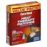 Cura-Heat Heat Therapy Patches, Air Activated, Neck Shoulder & Back, Value Pack 7 heat patches