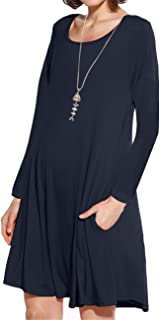 Best navy blue swing dress Reviews