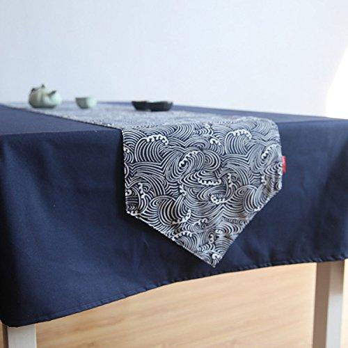Le Style Japonais Et Japonais Du Style Japonais Et Le Drap De Lin Le Tableau De La Table De Thé Zen Le Repas à La Maison Le Drapeau Le Lit La Tortue Le Serviette De Lit,30*200cm