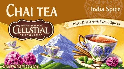 Celestial Seasonings Tee Original India Spice Chai 20x Teebeutel