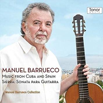 Music from Cuba and Spain, Sierra: Sonata para Guitarra