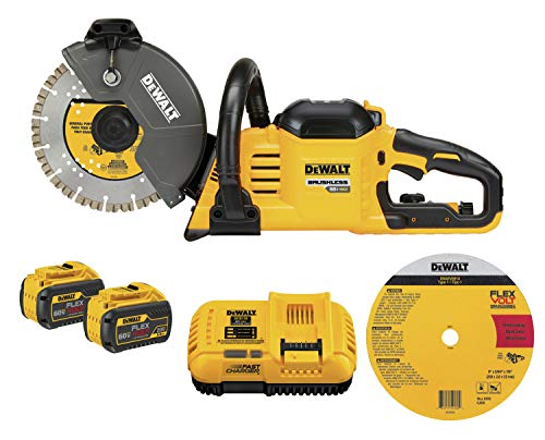DEWALT FLEXVOLT 60V MAX Cut-Off Saw Kit, 9-Inch (DCS690X2)