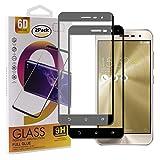 Guran GEH - Protector de Pantalla de Vidrio Templado para Smartphone Full Coverage HD