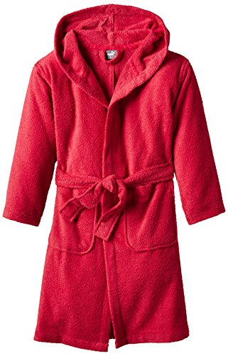 PUMA Mädchen Bademantel Active Bathrobe B&G, Lipstick Red, 128